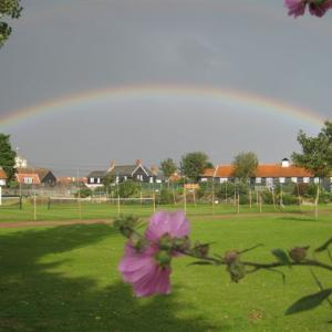 Rainbow over Thorpeness