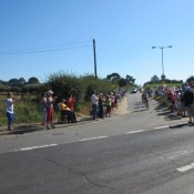 4. Tour of Britain 2012 - at the Parrot & Punchbowl Inn