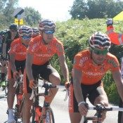 8. Tour of Britain 2012 - at the Parrot & Punchbowl Inn