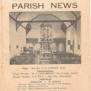 May 1962 Front Cover
