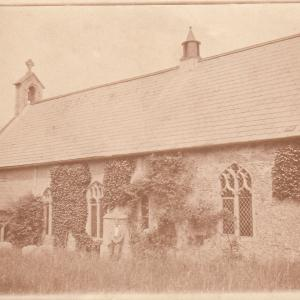 Aldringham Church 1920s