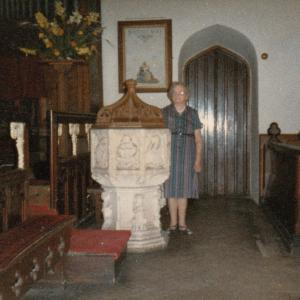 Aldringham Church 1933 September 5th 1983
