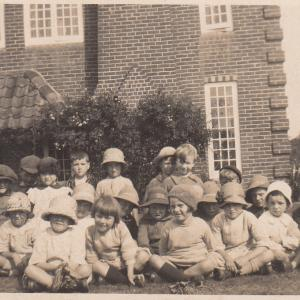 School Children at Pantile Farm
