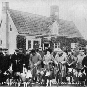 Leiston District Coursing Club, 1911, Parrot & Punchbowl