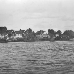 107 Circa 1930 View from the Meare