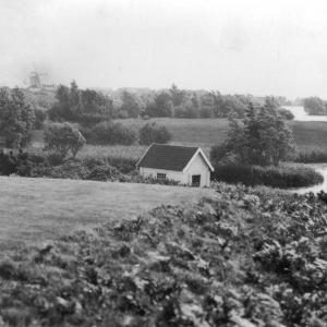 113 Circa 1930 View to Meare from golf course