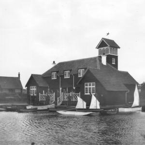 212 Boat House from Meare
