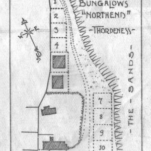 219 Site plan for North End bungalows
