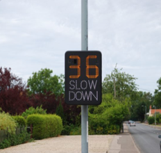 A Speed Indicator Device (SID) is coming to Aldringham-cum-Thorpe