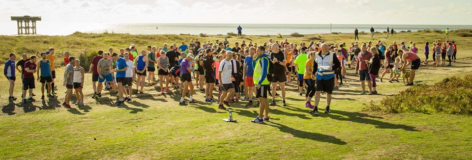 Over 200 participants at the first parkrun-Sizewell !